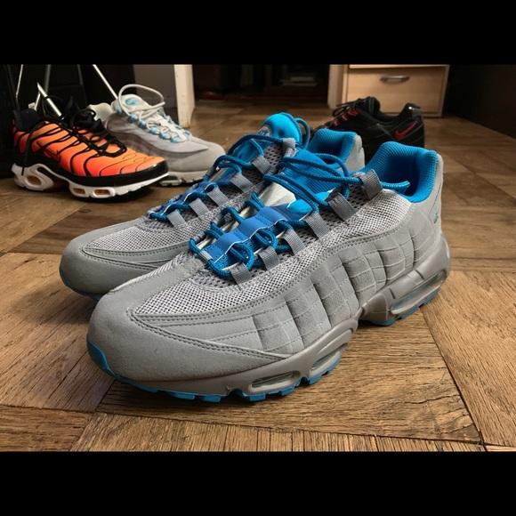 2010 Nike Air Max 95 Light Blue Grey (Deadstock) NWT